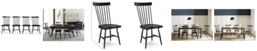 Furniture Bensen Dining Chair, 4-Pc. Set (Set of 4 Chairs), Created for Macy's