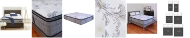 "Chic Couture Cool Gel Memory Foam and Wrapped Coil Hybrid 13"" Pillow Top Mattress in a Box Collection"