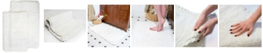 Chesapeake Verona 2 pc. Pleat Trim Bath Rug Set