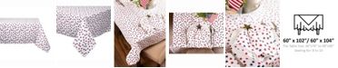 "Design Imports Americana Stars Print Table cloth 60"" X 104"""