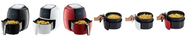 GoWISE USA 8-in-1 5.8-Qt Air Fryer XL with 6 Piece Accessory Kit