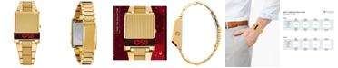 Bulova Men's Digital Archive Computron Gold-Tone Stainless Steel Bracelet Watch 31.1x40.3mm
