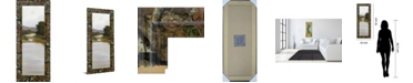 "Classy Art River Journey by Megan Lightell Framed Print Wall Art - 18"" x 42"""