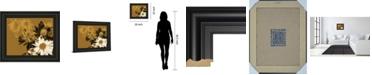 "Classy Art Golden Bloom II by A. Project Framed Print Wall Art, 22"" x 26"""