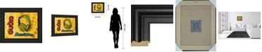 "Classy Art Audio by Tava Luv Framed Print Wall Art, 22"" x 26"""