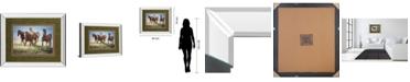 "Classy Art Morning Stroll by Wendy Caro Mirror Framed Print Wall Art, 34"" x 40"""