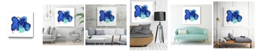 "Giant Art 20"" x 20"" Ink splash Museum Mounted Canvas Print"