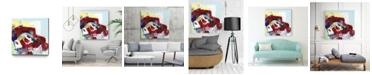 """Giant Art 30"""" x 30"""" Kaleidoscopic Days II Museum Mounted Canvas Print"""