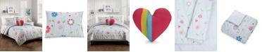 Jessica Simpson Growing Garden 4-Piece Full/Queen Comforter Set