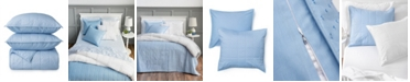 Martha Stewart Collection Brynn Texture Queen Quilt, Set of 3