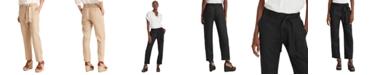 Lauren Ralph Lauren Linen High-Rise Pants