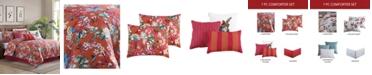 Riverbrook Home Fiesta Comforter with 6 Bonus Pieces Set, Queen
