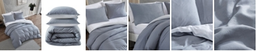 Kenneth Cole New York Nila Reversible Duvet Cover Set Collection