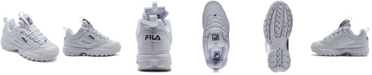 Fila Little Kids Disruptor II Casual Sneakers from Finish Line