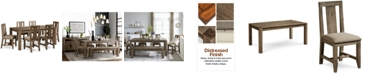 """Furniture Canyon 7 Piece Dining Set, Created for Macy's,  (72"""" Dining Table & 6 Side Chairs)"""