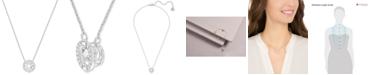 Swarovski Floating Crystal Pendant Necklace