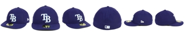 New Era Tampa Bay Rays Low Profile AC Performance 59FIFTY Cap