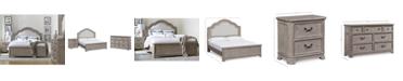 Furniture Elina Bedroom Furniture Set, 3-Pc. (Queen Bed, Dresser & Nightstand), Created for Macy's