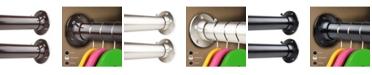 "Rod Desyne 1.5"" Adjustabe Closet Rod 48-84 inch and Socket Set"