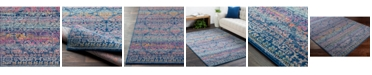 "Surya CLOSEOUT! Harput HAP-1054 Dark Blue 18"" Square Swatch"
