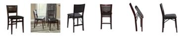 Linon Home Decor Kiera Folding Chair Set of 2