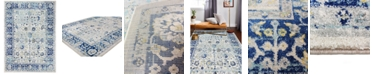 """BB Rugs Cassius CSS-503 Ivory/Blue 3'6"""" x 5'6"""" Area Rug"""