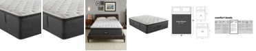 "Beautyrest BRS900-C-TSS 16.5"" Medium Firm Pillow Top Mattress Set - Queen, Created for Macy's"
