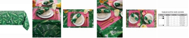 """Design Imports Banana Leaf Outdoor Table cloth 60"""" X 84"""""""