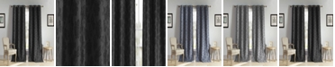 "Duck River Textile Aeryn 54"" x 84"" Floral Blackout Curtain Set"