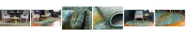 Global Rug Designs Global Rug Design Adah Ada2 Turquoise Area Rug Collection