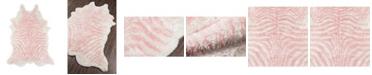 "Novogratz Collection Novogratz Kalahari Kal-1 Pink 7'6"" x 9'6"" Area Rug"