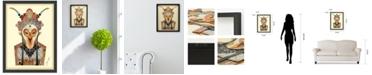 "Empire Art Direct 'Beijing Opera Mask 1' Dimensional Collage Wall Art - 25"" x 19''"