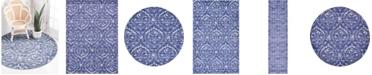 Bridgeport Home Felipe Fel1 Blue Area Rug Collection