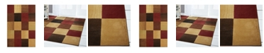 Global Rug Designs Global Rug Design Yorba YOR02 Brown Area Rug Collection