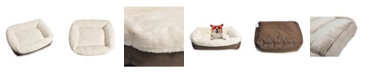 Happycare Textiles Classic Rectangle Dog and Pet Bed Collection