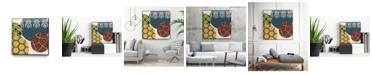 """Giant Art 20"""" x 20"""" Paper Lanterns III Art Block Framed Canvas"""