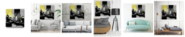 """Giant Art 30"""" x 30"""" Triptych II Museum Mounted Canvas Print"""