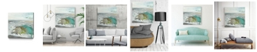 "Giant Art 30"" x 30"" Ocean II Museum Mounted Canvas Print"