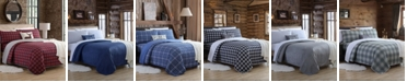 Cathay Home Inc. Blanket Sheet Sets with Reversible Faux Mink Flat Sheet
