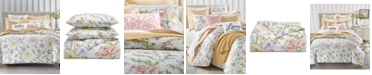 Charter Club Blossom Cotton 300-Thread Count 3-Pc. Full/Queen Duvet Cover Set, Created for Macy's
