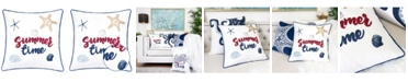 Homey Cozy Summer Square Decorative Throw Pillow