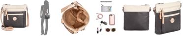 Giani Bernini Colorblock Pebble Crossbody, Created for Macy's