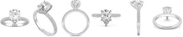 Charles & Colvard Moissanite Pear Engagement Ring (2-3/8 ct. t.w. DEW) in 14k White Gold
