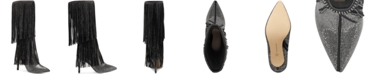 INC International Concepts INC Ishani Fringe Boots, Created for Macy's