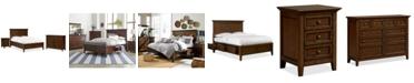 Furniture Matteo Storage Platform Bedroom 3 Piece Bedroom Set, Created for Macy's,  (King Bed, Dresser and Nightstand)