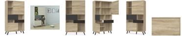 Furniture Ardson Bookcase, Quick Ship