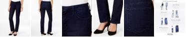NYDJ Marilyn Tummy-Control Straight-Leg Jeans, In Regular & Short Lengths & Petite Sizes