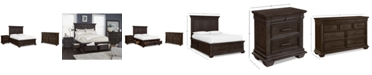 Furniture Hansen Storage Bedroom Furniture, 3-Pc. Set (Full Bed, Nightstand, and Dresser), Created for Macy's
