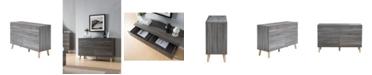 Furniture of America Modern Massenburg III 6 Drawer Dresser