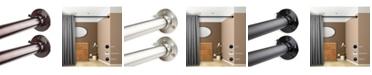 """Rod Desyne 1"""" Adjustable 28-48 inch Room Divider Rod and Socket Set"""